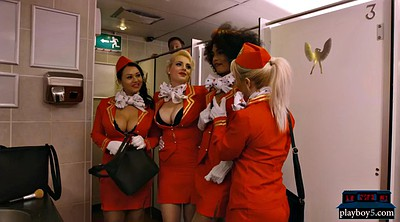 Toilet, Flight attendants, Flight