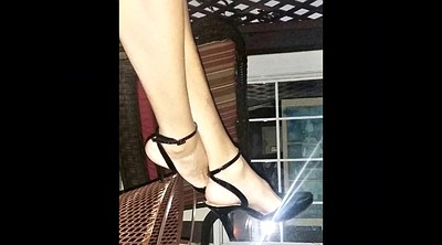 Shoe, Mature feet, Mature heels, Mature foot, Masturbation heels
