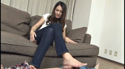 Footjob, Japanese foot