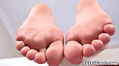Shemale foot
