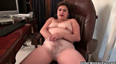 Mature, Usa, Nylon granny