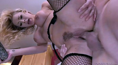 Licking squirt, Milf squirt, Fishnet