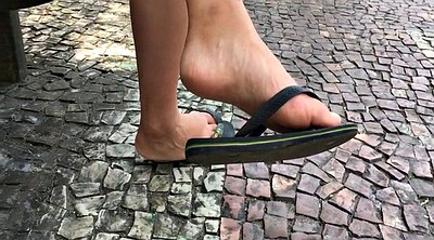 Asian feet, Flat, Candid