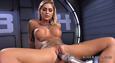 Machine, Busty dildo