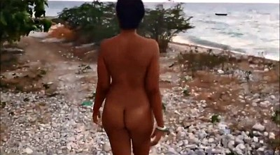 Wife, Nude beach, Nude