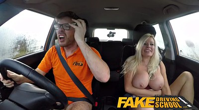 Pee, Fake driving, Fake driving school, Driving school, Squirting creampie, Milf squirt