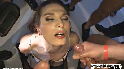 Bukkake, Double vaginal, Goo girls