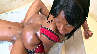 Ebony blowjob, Buttocks