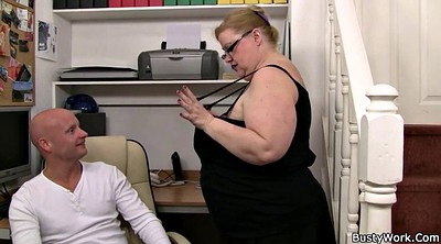 Office, Boob, Huge tits, Huge boobs