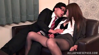 Pantyhose office, Pantyhose orgasm