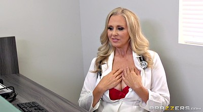 Julia, Mature cuckold, Mature doctor, Ejaculation