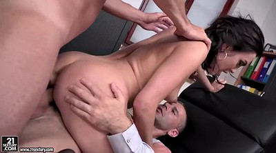 Blowjob, Juice, Anal office