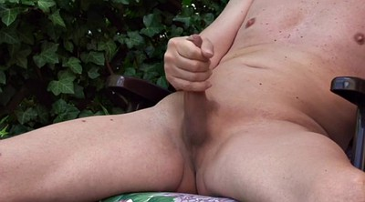 Old gay, Perv, Young solo, Jerking off, Granny solo, Garden