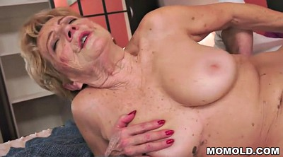 Mature granny, Big dick