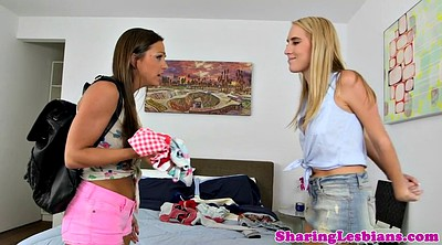 Sniffing, Lesbians panties