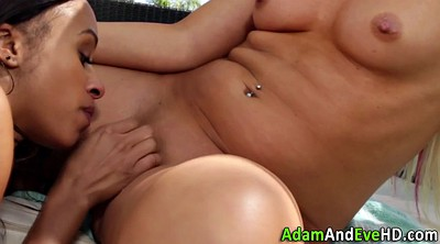 Touch, Touching, Tongue, Lesbian outdoor