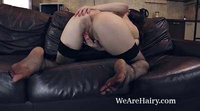 Masturbation finger, Hairy solo