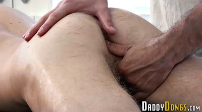 Stepdad, Gay creampie, Massage creampie