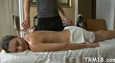Oil massage, Oiled