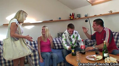 Group granny, Milf young, Sex granny