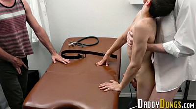 Doctor, Stepson, Gay creampie