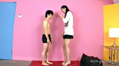 Tall, Japanese throat, Japanese handjob
