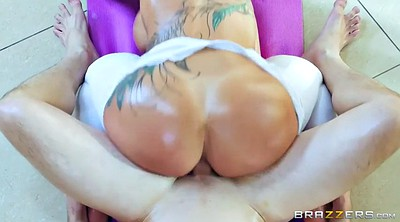 Pov riding, Yoga anal, Blonde mature anal