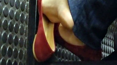 Candid, Sole, Subway, Teen feet, Feet soles, Brazilian feet
