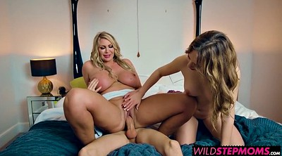 Threesome, Surprise, Jordy, Jordie, Surprise threesome, Leigh darby