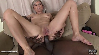 Mature interracial, Mature masturbation, Ebony dildo