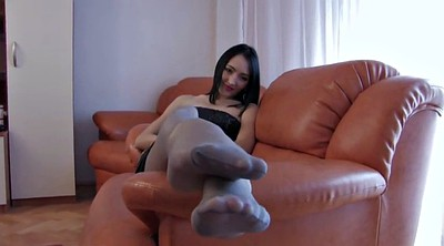 Pantyhose foot, Pantyhose fetish, Feet tease, Pantyhose feet