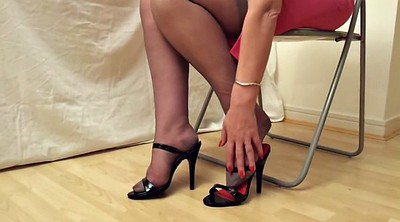 Mature stocking, Heels