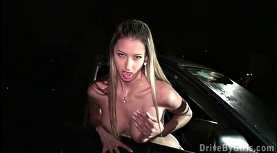 Interview, Public gangbang, Group casting, Casting blonde