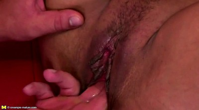 Mature creampie, Young creampie, Milf young boy