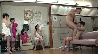 Japanese old, Old japanese, Asian granny, Uncensored, Sauna, Japanese granny