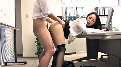 Secretary, Japanese threesome, Work, Japanese suck, Japanese fetish