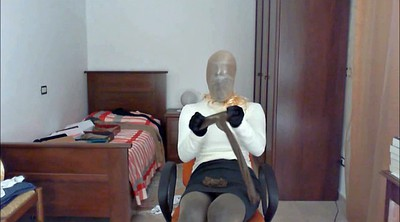 Pantyhose, Gay pantyhose, Encased, Breathplay