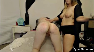 Spanked, Extremely, Lesbian spanking, Tie