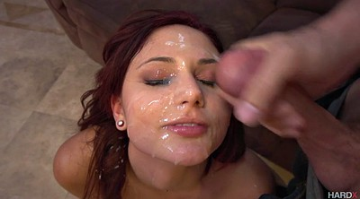 Cum on face, Cum surprise, Ariana marie