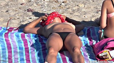 Beach, Topless, Cameltoe, Spy cam, Beach voyeur, Beach tits
