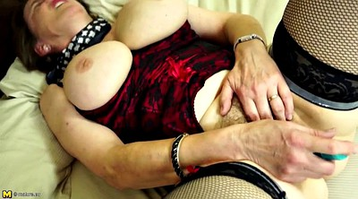 Granny, Real granny, Busty matures