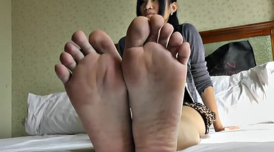 Asian foot, Happy