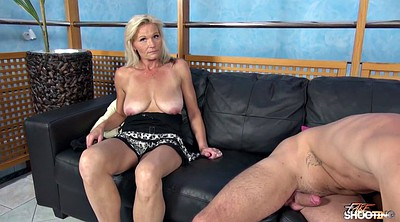 Audition, Stripping, Casting milf