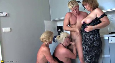 Sexy, Old and young, Mom boy, Young boy, Sexy mom, Mom and boy