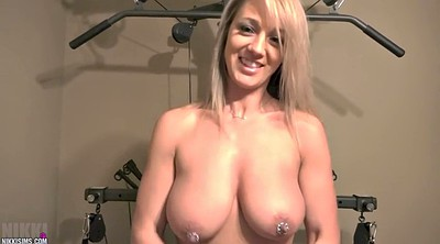 Public, Nikki sims, Big nipples