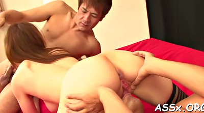 Japanese anal, Double