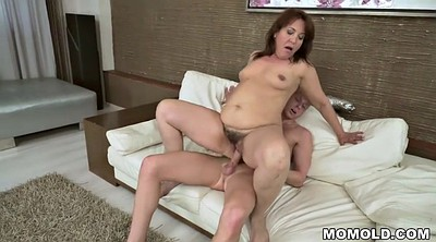 Grandma, Red milf, Horny milf, Granny and young