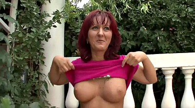 Redhead, Mature casting, Interview