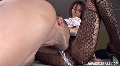 Asian foot, Asian pantyhose, Asian office
