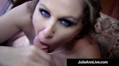 Julia ann, Mature blowjob